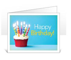Happy Birthday Card option
