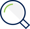 Overview Icon - Magnifying glass