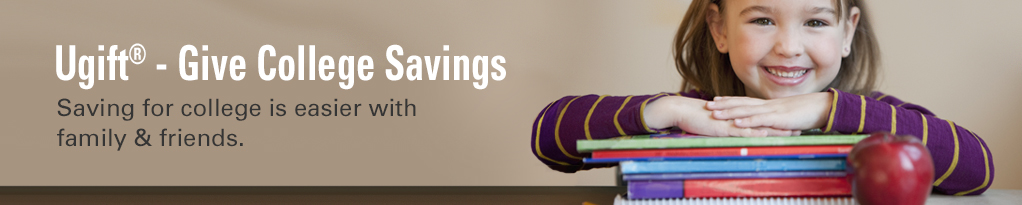 Ugift - Give college savings. Saving for college is easier with family and friends.