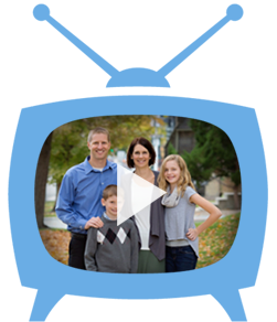 ID family in television, press play button for webinar