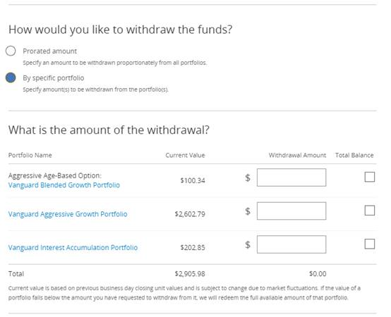 FAQs: Managing your account | MOST 529