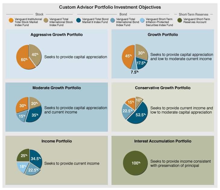 Custom Advisor Portfolio Investment Objectives