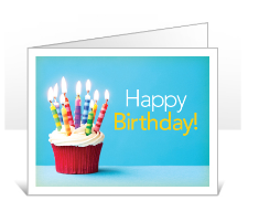 Happy Birthday Card option