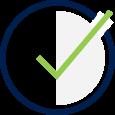 Fees Icon - Checkmark symbol