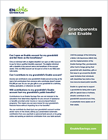 Grandparents and Enable PDF Cover