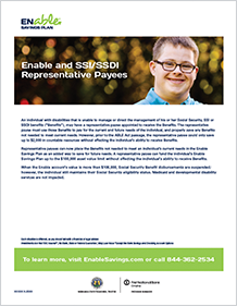 Enable and SSI/SSDI Represtative Payees PDF COver