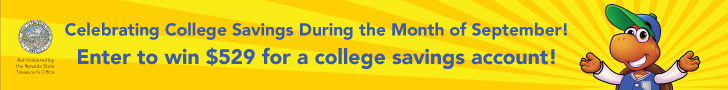 Celebrating College Savings During the Month of September! Enter to win $529 for a college savings account!