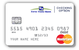 sample debit card